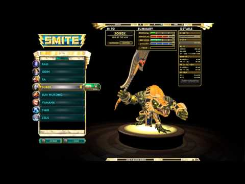 ◌ SMITE - A Quick Overview of the Current Gods