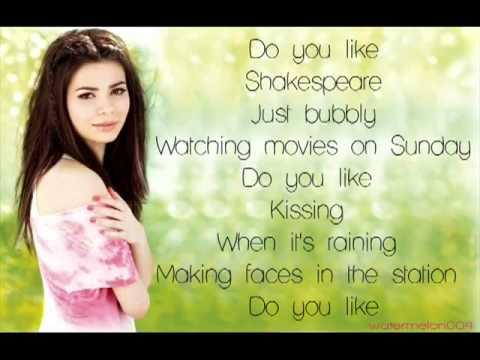 Miranda Cosgrove - Shakespeare Lyrics