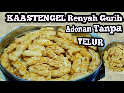 Resep KASTENGEL .  Cheese Finger Cookies