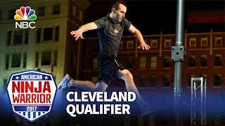 Joe Moravsky at the Cleveland Qualifiers - American Ninja Warrior 2017