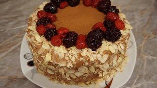 Чем украсить торт в домашних условиях быстро