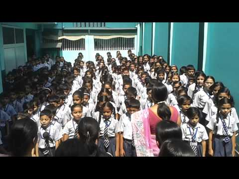 Bharat Bhawna Diwas Video Indo American School Faizabad video
