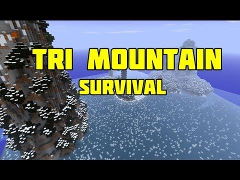 Minecraft : Tri Mountain Survival Ep.4 - Diamond!