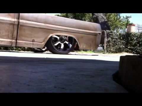 Bagged Ford F100 Youtube