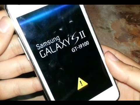 [ GT-I9100 GT-I9100P ] Remove The Yellow Triangle & Reset Flash Counter Samsung Galaxy S2