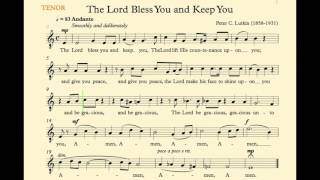 The Lord Bless You And Keep You Lutkin Tenor
