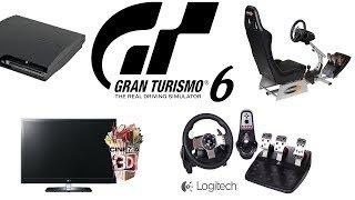 Gran Turismo 6 - играю на руле Logitech G27 - отличный руль и игра!