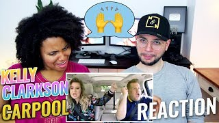 Kelly Clarkson Carpool Karaoke | REACTION