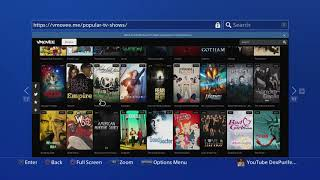 PS4 FREE MOVIES/TV SHOWS (DITCH NETFLIX)