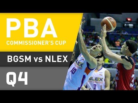 GINEBRA VS. NLEX - Q4   Commissioner's Cup 2015