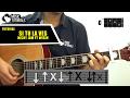Como tocar Si Tu La Ves de Nicky Jam Ft Wisin en Guitarra  Tutorial Facil + PDF GRATIS -
