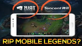 RIP MOBILE LEGENDS? LEAGUE OF LEGENDS MOBILE IN 😱