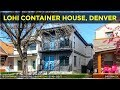 LoHi Shipping Container House   3538 Pecos Street in Denver, Colorado   Luxury Container Homes 2018