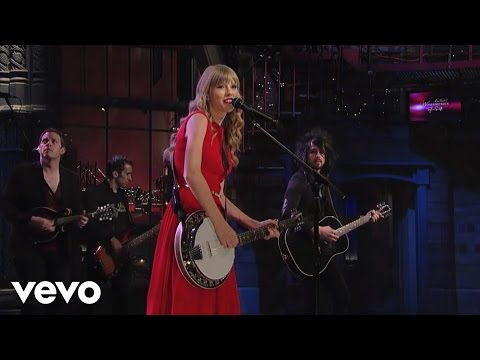 Taylor Swift - Mean Live