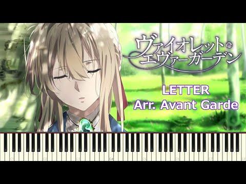 Letter - Violet Evergarden 「TRUE – Miho Karasawa//唐沢美帆」Piano Sheets