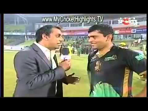 The most funniest HINDI Interview in Cricket by Kamran Akmal   you won't stop laughing