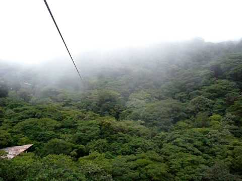 Costa Rica, Monteverde Cloud Forest Canopy Tour 2009