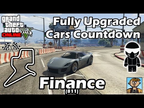 Fastest Finance DLC Vehicles (811) - Best Fully Upgraded Cars In GTA Online