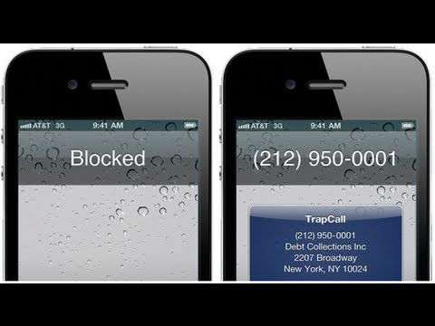 How to view blocked phone numbers