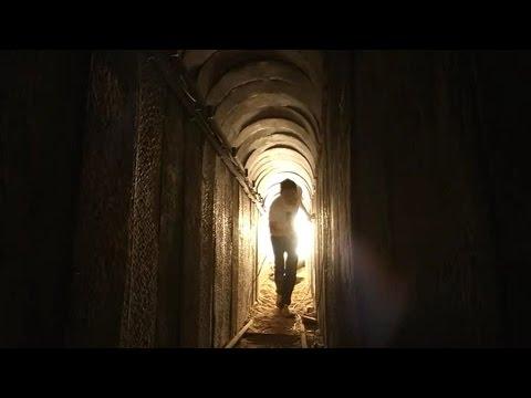 Reportage au cœur des tunnels creusés par le Hamas à Gaza