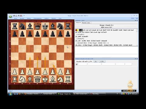 descargar chessbase y abrir juegos en fritz y rybka