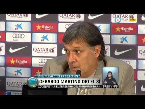 Visión 7 - Gerardo Martino dió el si