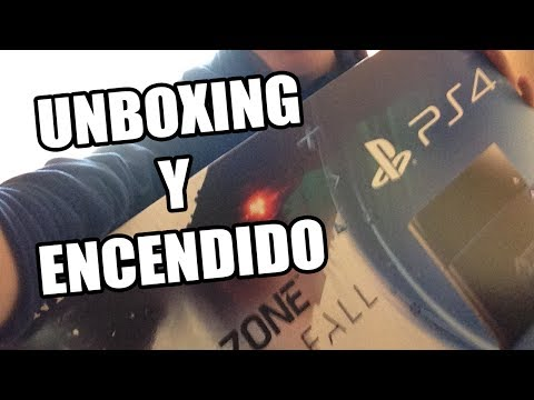 PS4: UNBOXING. ENCENDIDO DE CONSOLA Y MENÚ!   PS4 + KILLZONE: SHADOW FALL   UNBOXING ESPAÑOL