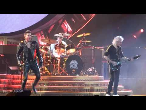 TALC HD - Queen + Adam Lambert - Fat Bottom Girls - Air Canada Centre - Toronto, ON