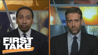 Stephen Curry Disagrees With Under Armour CEO's Trump Comments | First Take | February 9, 2017