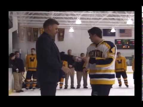 2003 Trenton High School Hockey #8 District Final Wyandotte Video