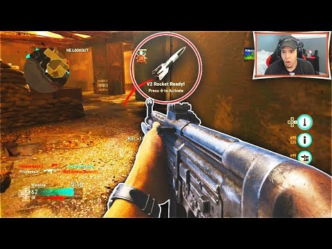 BEST BASIC TRAINING EVER SAVES THE V2 ROCKET! (Call of Duty WW2)