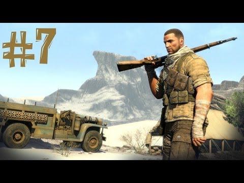 Sniper elite 3 прохождение часть 7 валят