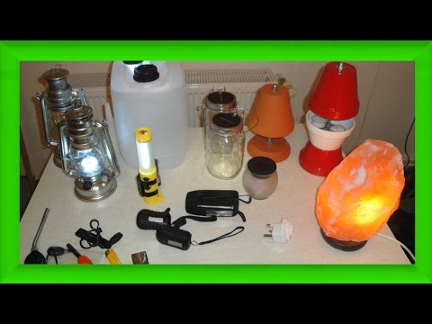 7 Lichtquellen auf Vorrat - Selbstversorgung sinnvoll? - Kurbellampe, Solarglas, Hamsterkäufe