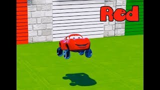 Learn Colors with Mater, McQueen, Disney Cars 3, Funny Songs for Kids