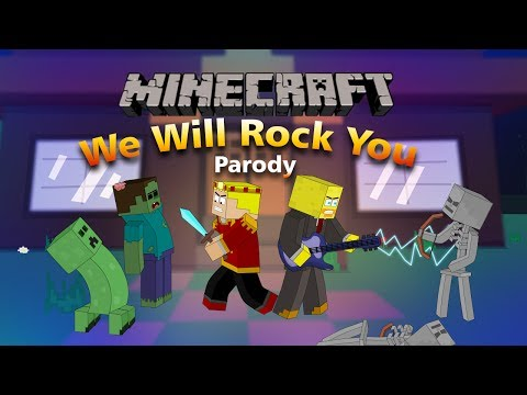 We Will Find You Minecraft Parody Of We Will Rock You By Queen! (Music Video)