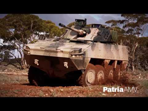 Patria AMV28A, AMV35 & Patria AMV xp 2017
