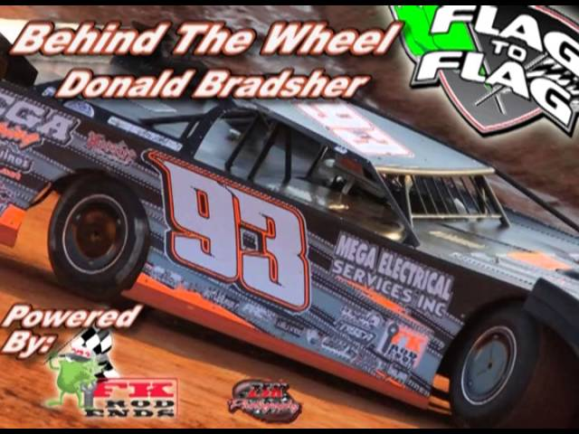 Flag to flag's Behind The Wheel Powered by: FK Rod ends Donald Bradsher