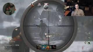HITTING SO MANY CLIPS!! (CoD: WWII)