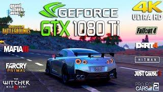 NVIDIA GTX 1080 Ti Test 10 Games in 4K (i7 8700k)