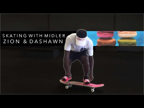 Skating with Midler, Zion & Dashawn