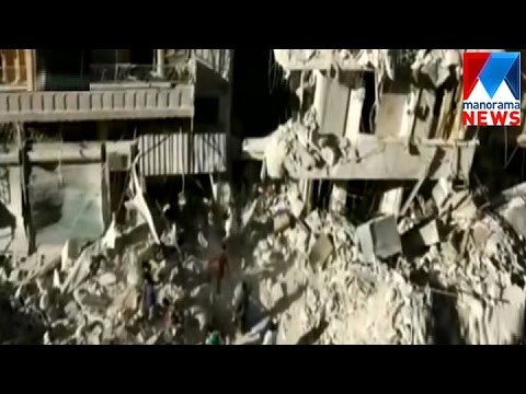Thousands flee mounting violence in Syria's Aleppo  | Manorama News