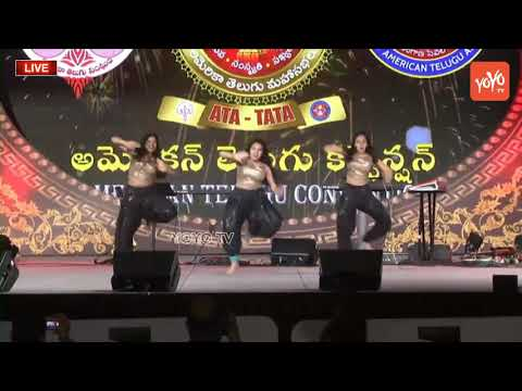 Girls Group Dance Performance For Bollywood And Tollywood Songs at ATC 2018 | YOYO TV Channel