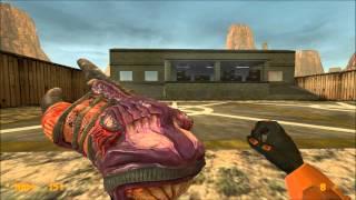 Black Mesa and Half-Life comparasion & feedback: weapons (part 2)