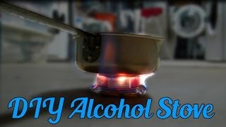 How to Make a Soda Can Alcohol Stove + Testing