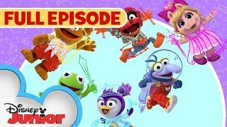 Sir Kermit the Brave / Animal Fly Airplane   Full Episode   Muppet Babies   Disney Junior