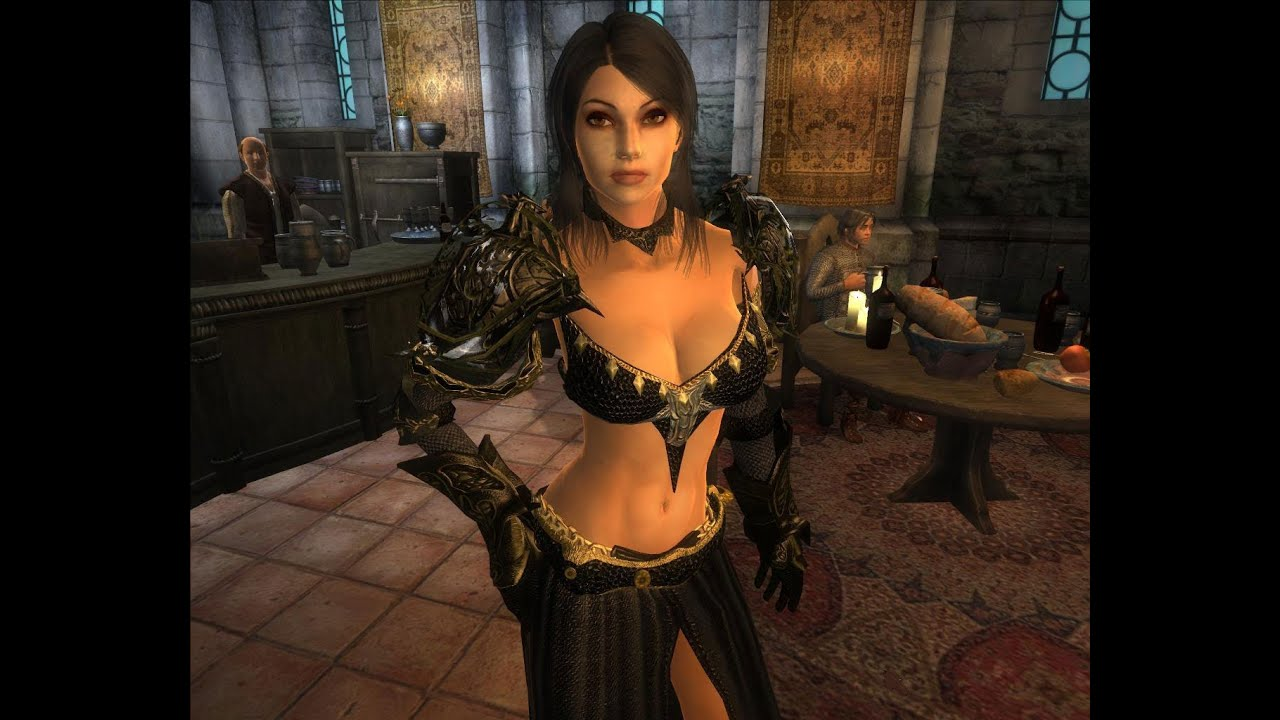 Oblivion golden saint sex mod nude pic