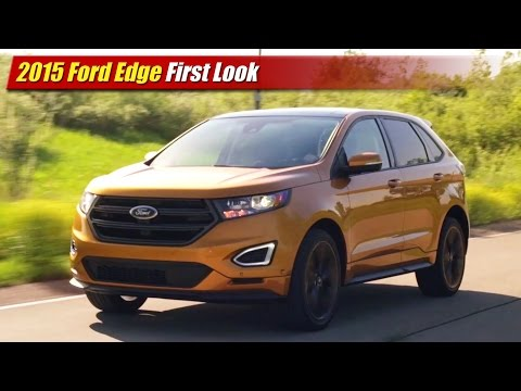 First Look: 2015 Ford Edge