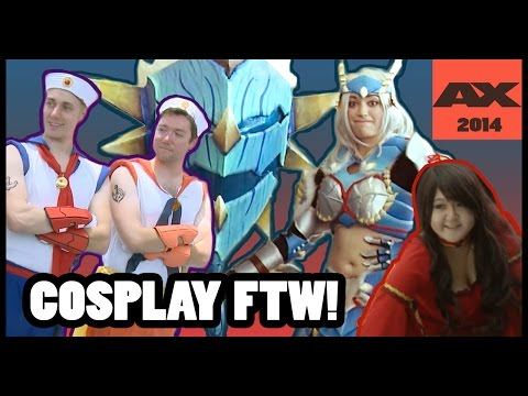 ANI-MAZING COSPLAY FROM ANIME-EXPO 2014 - CineFix Now