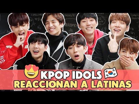 ¿Qué piensan los Idols Coreanos de las Latinas?   Hablemos de Doramas ft BOYS24 DIA Stage