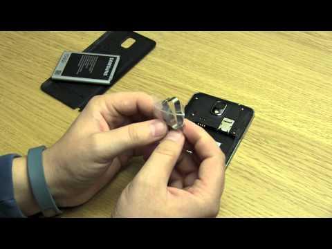 Samsung Galaxy Note 3 - Wysuwanie Karty SIM